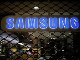 he logo of Samsung Electronics is seen at its office building in Seoul