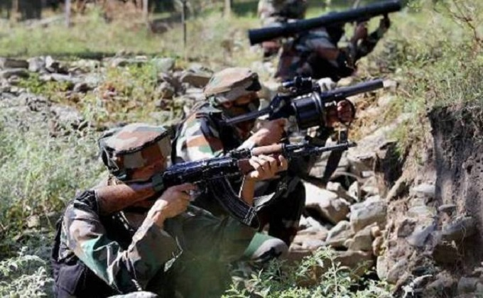 Indian Armygave strong response to Pakistan's firing